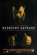 MIDNIGHT EXPRESS (1978) ORIGINAL VIDEO MOVIE POSTER - 20TH ANNIV. R-98  - ROLLED