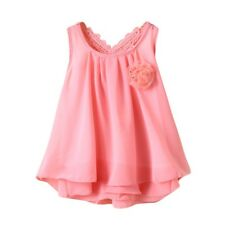 Newborn Infant Baby Girls Dress Princess Backless Casual Loose Dress Clothes HOT