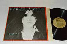 CAROLE LAURE Alibis LP 1978 RCA Victor Canada Vinyl KKL1-0290 French VG/VG