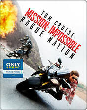 Mission: Impossible - Rogue Nation Blu-ray Limited Edition Steelbook Sealed New