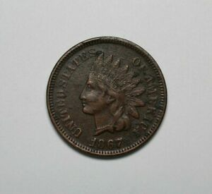 1867 Indian Head Cent - 171330A