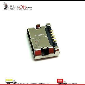 Connettore di ricarica 2 PEZZI Micro usb CLEMENTONI clempad XL plus XL8 A011