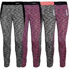 Kinder Leggings Stretch Hose für Mädchen Sport Leggins Fitnes Hose Training Neu
