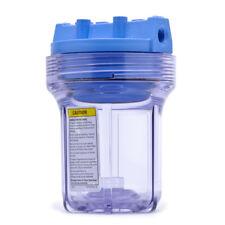 Pentek 158133 Slim 5 x 2.5 inch Clear Water Filter Housing (1/4 NPT)
