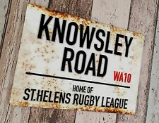 More details for st.helens - knowsley road sublimated wall man cave plaque