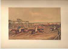 1927 Art Print Liverpool Grand Steeple Race Into Home by J. Harris; Studio Art