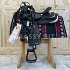 """15"""" Circle Y Equitation Show Saddle Package"""