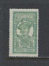 Nouvelle annonce MARTINIQUE - 68, 74, 84, 100 -  MH - 1908 - 1922 ISSUES