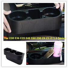 Front Seat Seam Wedge Cup Drink Holder For BMW E30 E36 E39 E46 E60 E90 Z4 Z3 GL