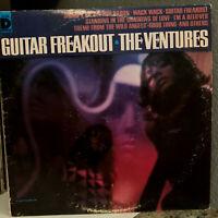 "THE VENTURES - Guitar Freakout - 12"" Vinyl Record LP - EX"