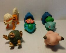 Pokemon Burger King Toys Lot of 5 (1999-2019) (Venusaur, Bulbasaur, Golem, Clefa