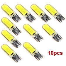 10X  T10 W5W LED 6W Car Interior Light COB Bulb Wedge Parking Dome White Light