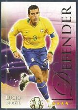 FUTERA 2010 WORLD FOOTBALL-SERIES 2- #508-BRAZIL-LUCIO