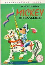 Mickey chevalier // Walt Disney // Bibliothèque Rose // Mini Rose