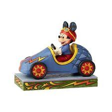 Disney Traditions Jim Shore Mickey Takes The Lead Race Car Figurine 6000974