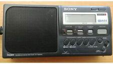 SONY ICF-M50RDS 3 BAND RADIO VINTAGE RETRO RDS DISPLAY FULLY WORKING FM/MW/LW/AM