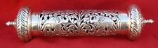 And Parchment Holder India Ethnic Design Silver Scroll