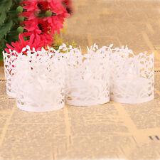 25x Tealight Wedding Candle Holder Lanterns Electronic Party Tea Light LED White