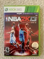NBA 2k 13 Durant Rose Griffin XBOX 360 Basketball Video Game Jay Z Sports