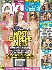 OK magazine Hollywood star extreme diets Kim Kardashian Brad Pitt Ryan Reynolds
