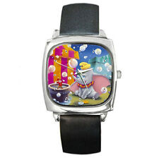 Disney Dumbo flying elephant leather wrist watch