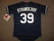 DARRYL STRAWBERRY MAJESTIC AUTHENTIC DIAMOND COLLECTION SEWN MLB JERSEY MENS M