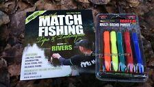 Maver Multi Bread Punch Set + FREE DVD Match Fishing Rivers