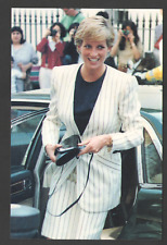 POSTCARD Royalty PRINCESS DIANA in LONDON 13/09/90