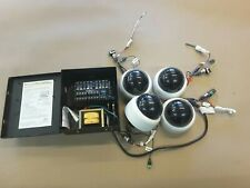 Sensormatic ADC824ul with (4) dome cameras security cctv system ADCA3DWIT2N