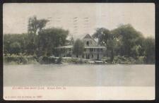 Postcard SIOUX CITY Iowa/IA  Council Oak Boat Club House view 1907