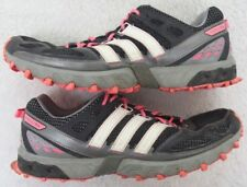 Adidas Running Shoes Athletic 11.5 Eleven 1/2 44 2/3 European Gray White & Pink