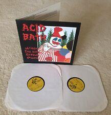 ACID BATH - TEST PRESSING -WHEN THE KITE STRING POPS LP - VINYL 1 of 4 MEGA RARE