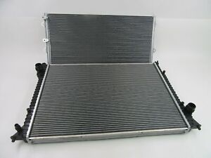 Bentley Continental Gt Gtc Flying Spur cooling radiator & condenser #457