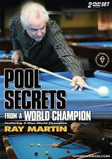 Pool Secrets from a World Champion 2 DVD Set Billiards Instruction Free Shipping