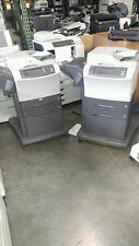 Hp LaserJet M4345Xs Lot of 2 Low Page Counts w/ toner ! CB427A