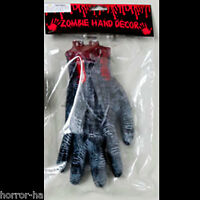Life Size Body Part-SEVERED BLOODY ZOMBIE HAND-Creepy Haunted House Horror Prop