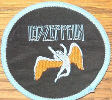 LED ZEPPELIN ORIGINAL VINTAGE EMBROIDERED WOVEN COLTH SEWING SEW ON PATCH