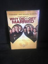(O) Tyler Perry's Why Did I Get Married? (DVD, 2008, Widescreen)