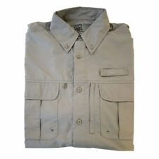Calcutta Long Sleeve SPF50 Technical Fishing Shirt, Sand