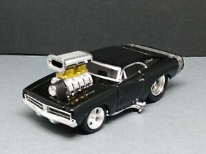 MUSCLE MACHINES BLOWN '69 DODGE CHARGER 1/64 COLLECTIBLE LIMITED EDITION MUSCLE