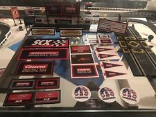 Slot Car Billboard And Accessories Set #10
