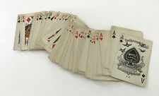 Antique WHIST NATIONAL CARD CO COLUMBIA 52 PLAYING CARDS DECK Only No Box Jokers