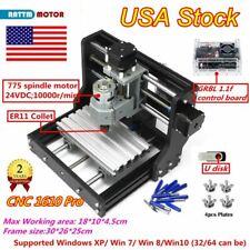 Us Usb Mini 1610 Pro Cnc Router Pvc Pcb Wood Milling Engraving Laser Machine