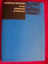 Gerhard Richter - In der Hamburger Kunsthalle    blaues Buch  1997