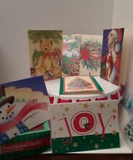 Christmas Cards W/ Envelopes Traditional Assorted 8 designs 36 cards