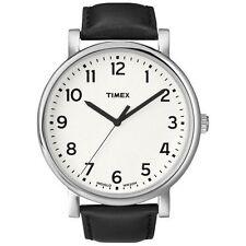 Timex Originals T2N338 Mens White Black Classic Round Watch RRP £59.99