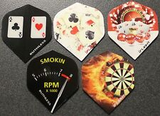 "10 Packets, New Ruthless Extra Strong Darts Flights ""High Rollers Pack""."