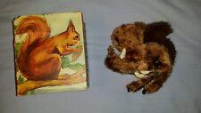 Vintage DBGM Gesch West Germany Squirrel Windup toy in original box