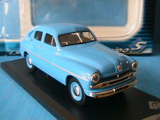 FORD ABEILLE 1954 BLEU SOLIDO 1/43 BLUE BLAU BERLINE DIE CAST METAL MODELCAR