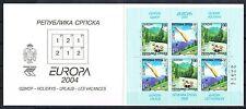 Bosnien Herzegowina Serb. Rep. 300/01 ** MH 7 Europa 04 Michel 13,00 (2146)